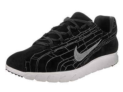 Nike Homme Sneakers Mayfly Leather PRM Black-Dark Grey-Linen 816548-003,