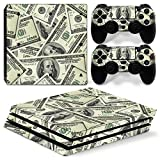 Chickwin PS4 Pro Vinyl Skin Full Body Cover Sticker Decal For Sony Playstation 4 Pro Console and 2 Dualshock Controller Skins (US Dollar)