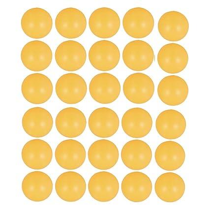 30 x Naranja Deportes pelotas de tenis de mesa PING PONG unidades Juego de bolas