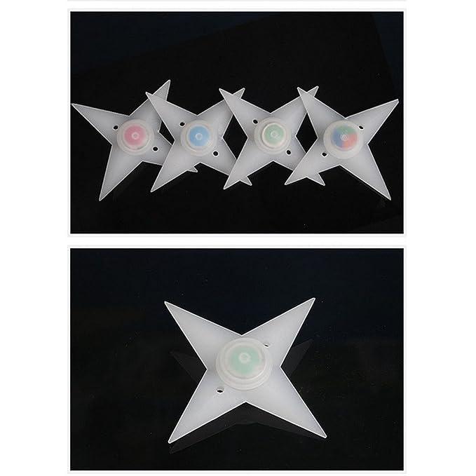 trixes 2 x Luz Estrella de Rueda de Bici LED - Cambian de ...