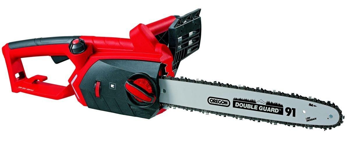 Einhell GE-EC 2240 Motosierra eléctrica , 2200 W, 240 V, protección contra