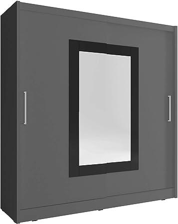 Sarah 2 – 2 puertas correderas espejo dormitorio grande blanco luz ...