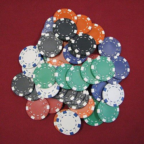Trademark Poker 1000 11.5g Striped Dice Chip