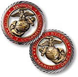 Core Values - U.S. Marines Challenge Coin…