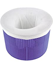 SunFuture 20-Pack Pool Skimmer Socks,Filter Pool & Spa Savers for Baskets and Skimmers,Skimmers Cleans Debris and Leaves for In-Ground and Above Ground Pools