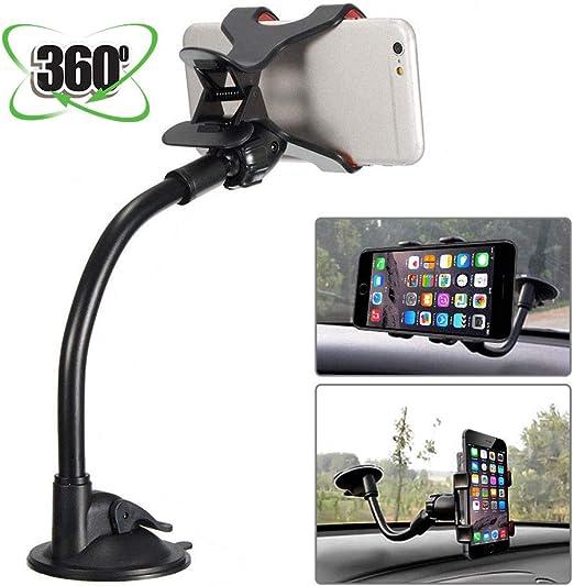 Universal 360° in Car Windscreen Dashboard Holder Mount For GPS PDA Smartphones