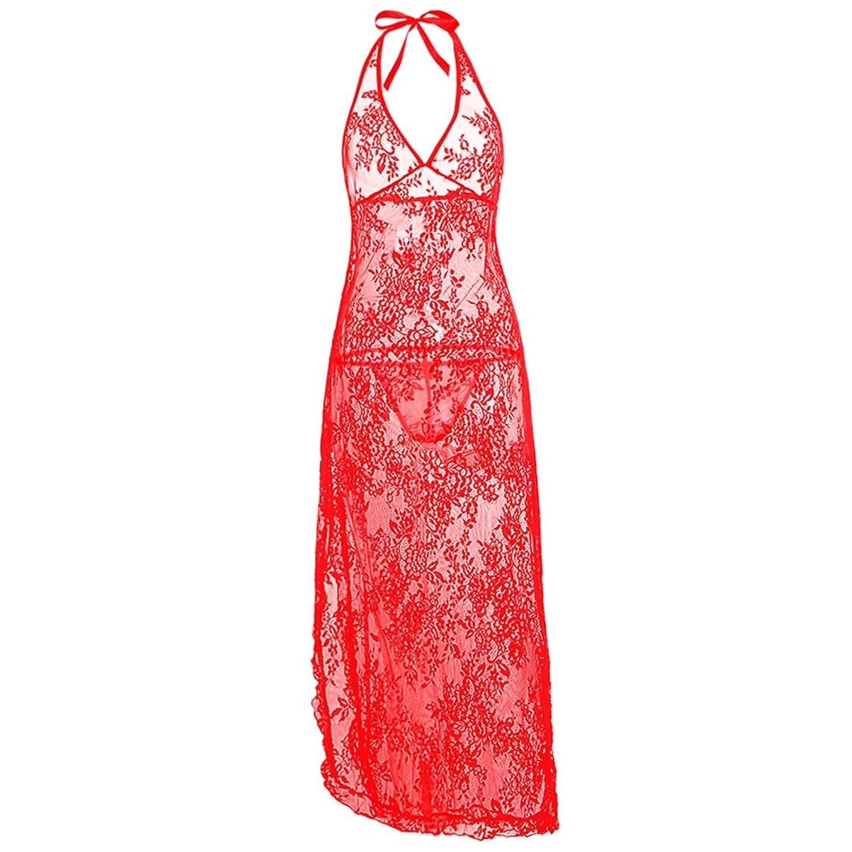 636de12363 (2 colores)iShine ropa interior divertida mujer Lencería Ropa Interior con  Tangas Encaje Pijama