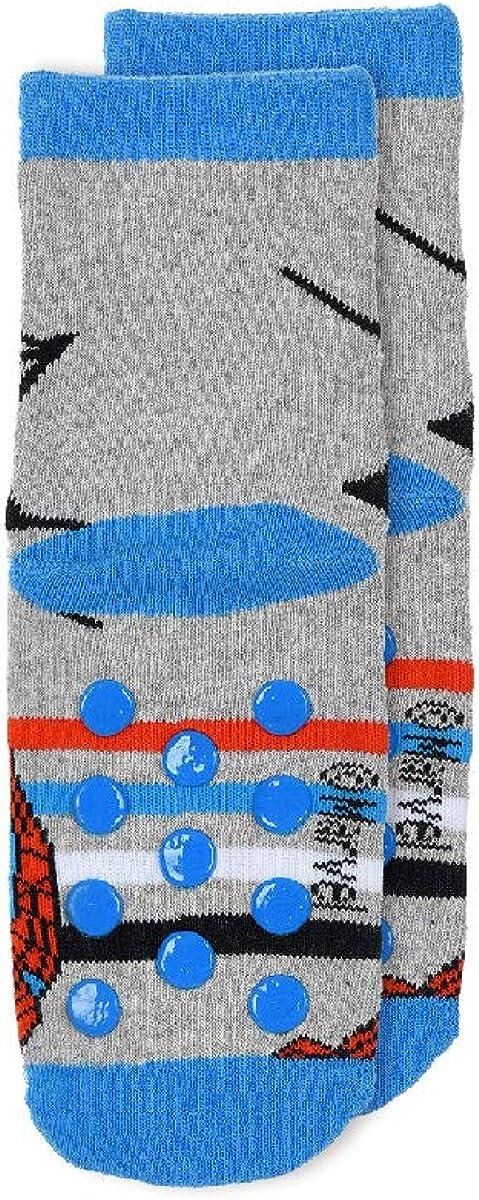 3 Paar Spiderman Jungen Terry ABS Socken Kinder Winter Stoppersocken