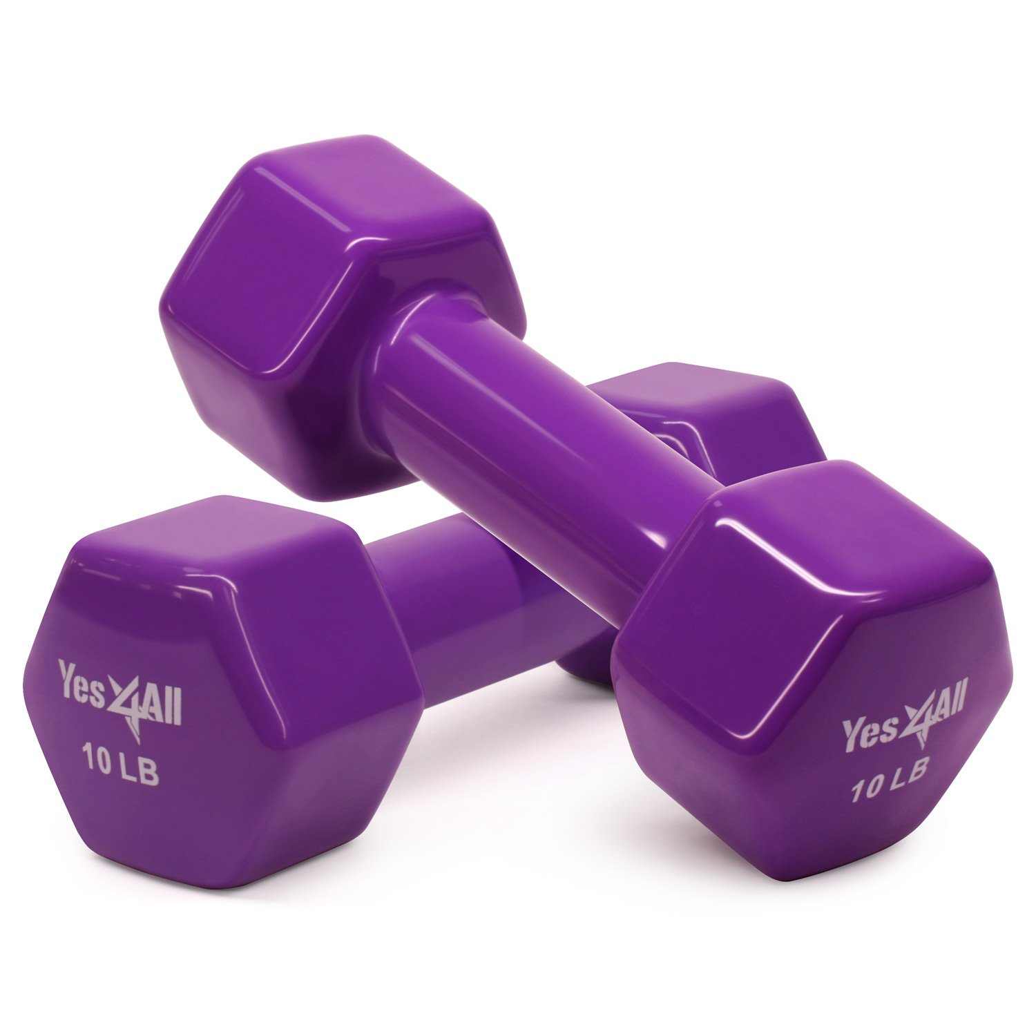Yes4All PVC Dumbbells Sold in Pair