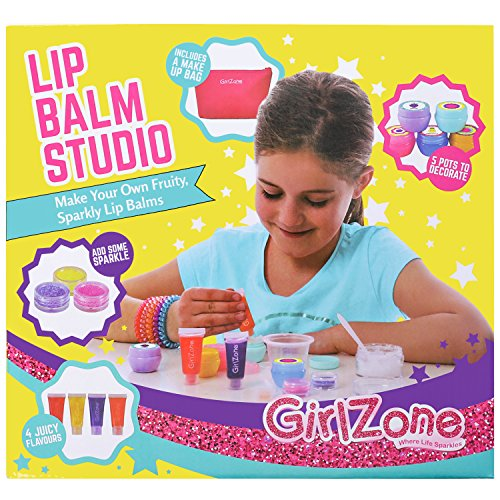 Age Birthday Gift - GIFTS FOR GIRLS: Make Your Own Lip Balm Kit With This 22 Piece Makeup Set For Girls. Best Birthday Present Gift For Girls Age 8 9 10 11+ Years Old.