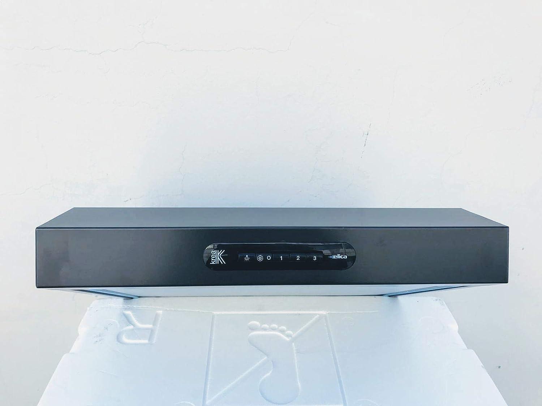 Campana bajera Elica, 50 cm de ancho, tipo filtrante, color antracita, modelo Krea Lux AN/F50: Amazon.es: Grandes electrodomésticos