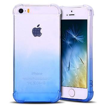 Anfire Funda iPhone 5 / 5S Silicona Carcasa Transparente ...