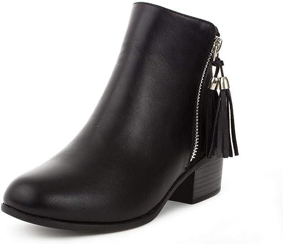 Lilley Girls Black Silver Zip \u0026 Tassel