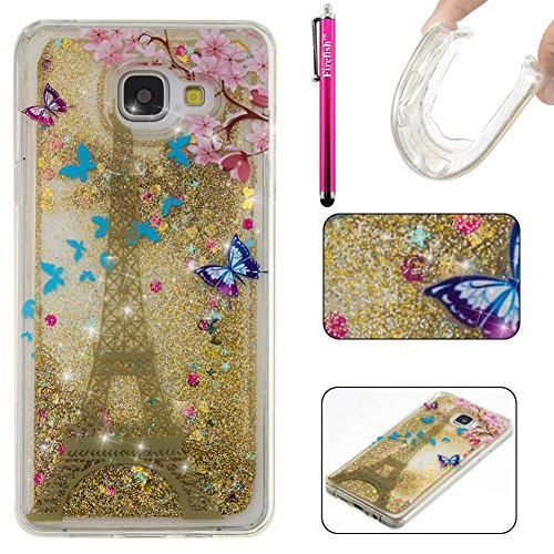 Iface Port (Galaxy A310 2016 Case, Firefish Bling 3D Sparkle Floating Dynamic Flowing Shockproof [Flexible] Gel Silicone [No Slip] Back Cover for Samsung Galaxy A310 2016)