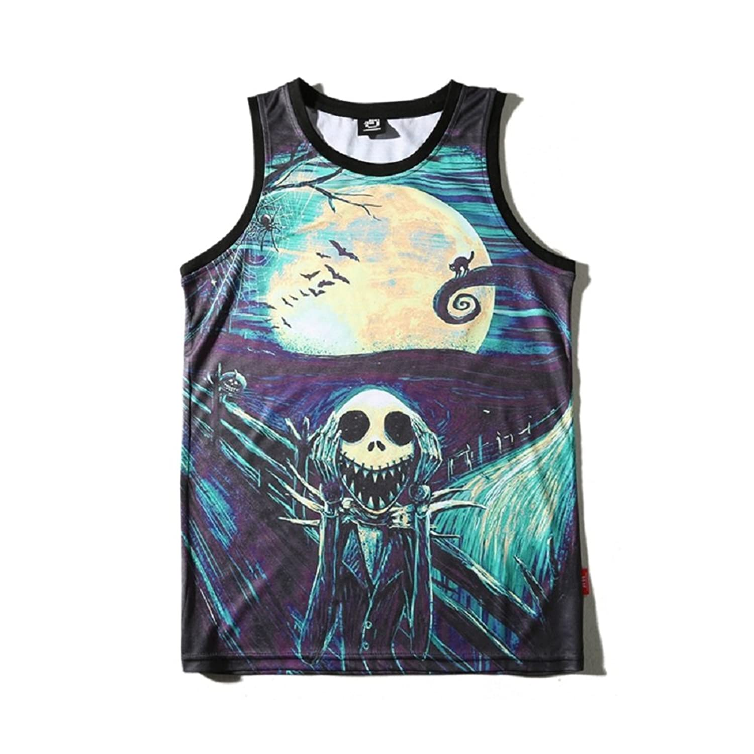 buy popular 3132e cc4bf  Not Fade Digital print tech., ensure each tank top has photo-realistic  imagery and lasting color stability
