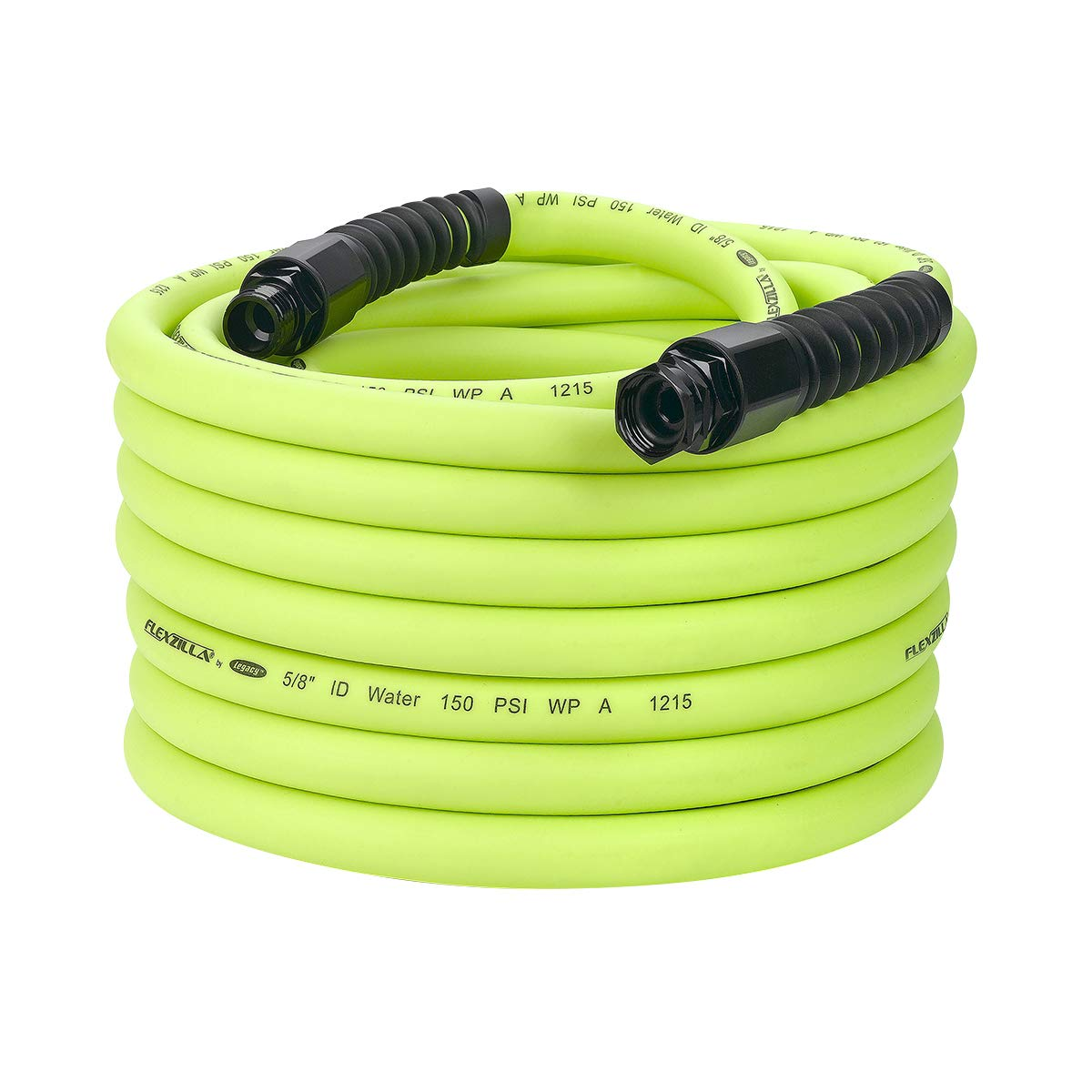 Flexzilla Pro Water Hose with Reusable Fittings, 5/8 in. x 75 ft., Heavy Duty, Lightweight, Drinking Water Safe  - HFZWP575 by Flexzilla