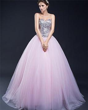 LUCKY-U Vestido De Novia, Vestido De Dama De Honor Vestido De Novia Elegante