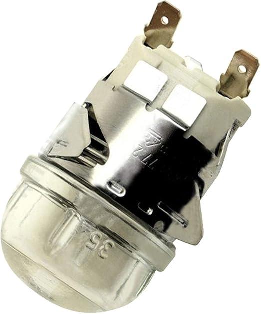Véritable AEG Four Ampoule De Lampe Lens Assembly 8087690023-230 V G9 8087690023