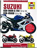H4382 Suzuki GSX-R600 GSX-R750 2004-2005 GSX-R1000 2003-2008 Haynes Motorcycle Repair Manual
