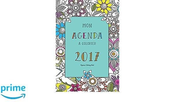 Agenda à colorier 2017 mandala, zen, art-thérapie, agenda ...