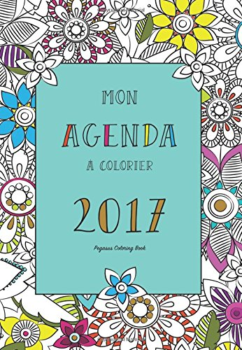 Amazon.com: Agenda à colorier 2017 (mandala, zen, art ...