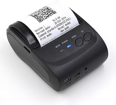 58 millimeter Mylunn™ impresora portátil impresora térmica Mini ...