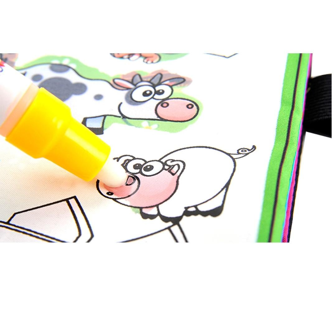 Amazon.com: LandFox Magic Water Drawing Book Coloring Book Doodle ...