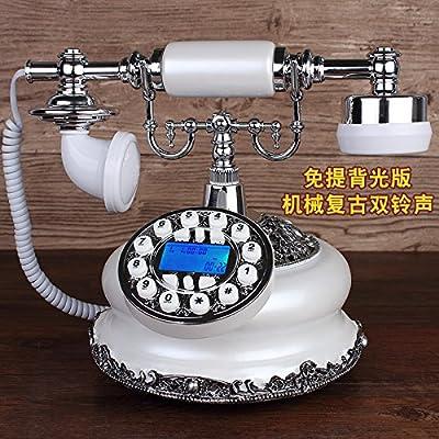 Máquina de teléfono Antigua Europea, teléfono Americano, Tarjeta ...