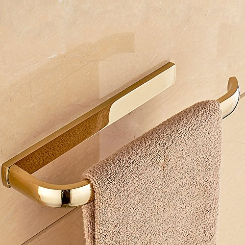 ETmla Copper plated European luxury towel ring towel hanging bathroom hardware pendant by ETmla (Image #4)