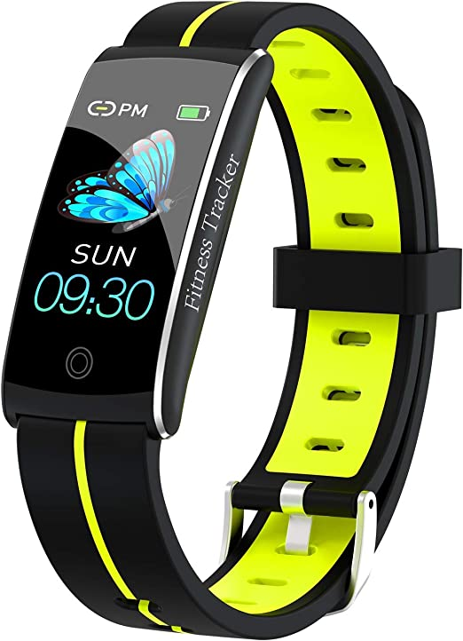 Step Counter for Women and Men IP68 Waterproof Pedometer Smartwatch with Sleep Monitor Fitness Tracker with Heart Rate Monitor Binken Smart Watch Activity Tracker with 1.3 Touch Screen