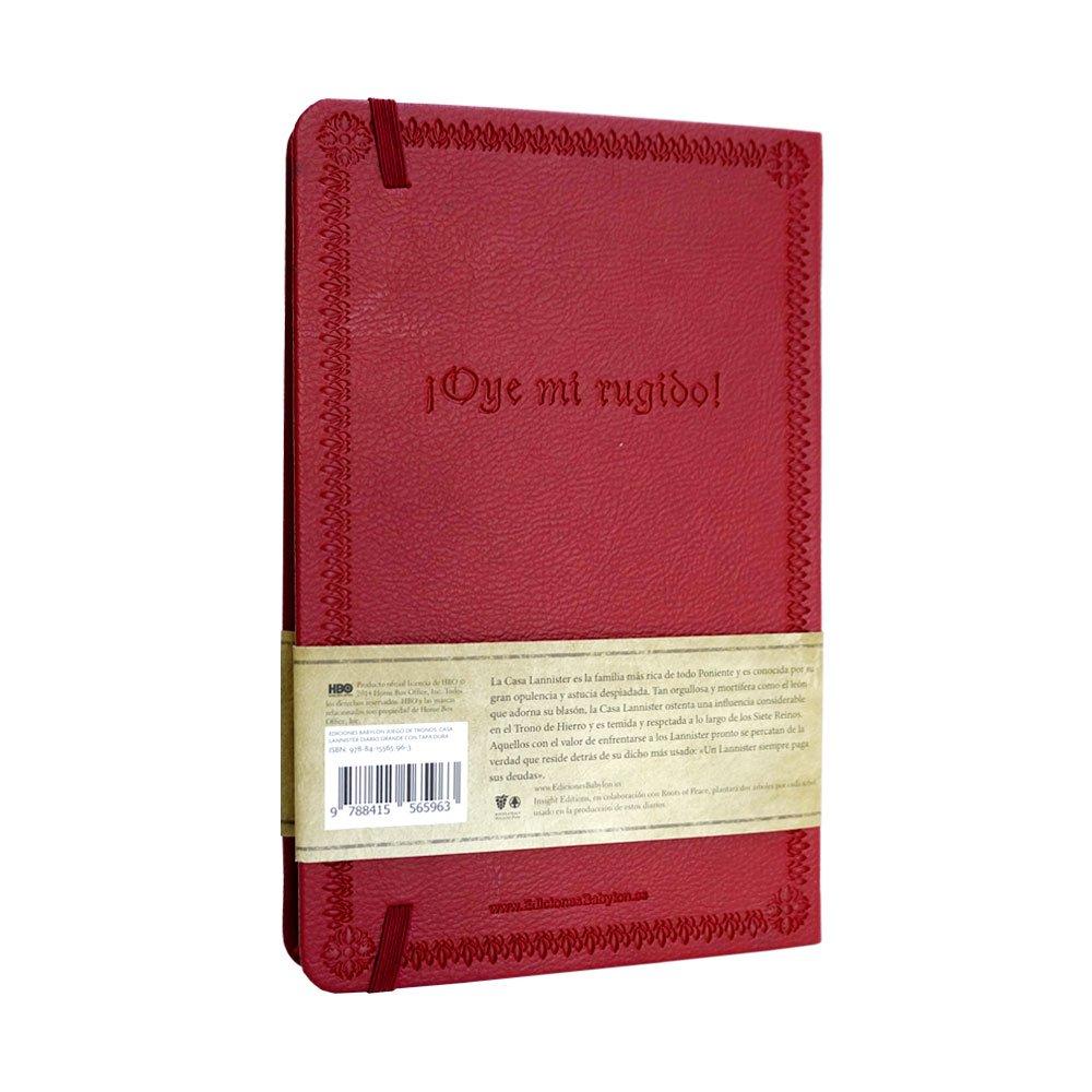 Cuaderno Juego de tronos, casa Lannister: Amazon.es: Juego de tronos, Company Albert, Ángel: Libros