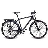 '28 Aluminio – Bicicleta de trekking bicicleta Shimano Steppenwolf Tao Light 6.0 S rh58