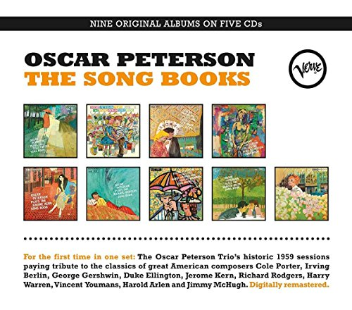 CD : Oscar Peterson - Song Books (Boxed Set, Canada - Import, 5 Disc)