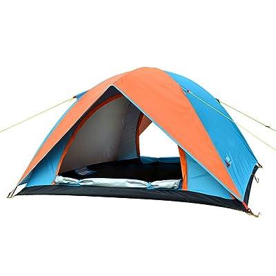 Ailin home- Tente extérieure Tentes Double Double Main Tente Professionnelle Camping Escalade Tente Pole Aluminium