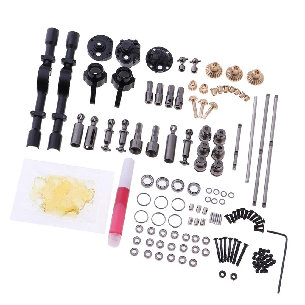 CUTICATE 1 16 Scale RC Gears Metal Shaft ,WPL 6x6 Parts ,WPL OP Accessories for B14 ,B16 ,B24 ,C14 ,C24, B36 ,4WD(6WD) Truck