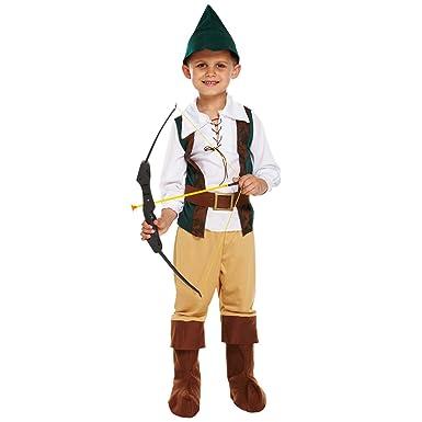Jager Kostum Kinder Jungen Robin Hood Kostum Karneval Kinder
