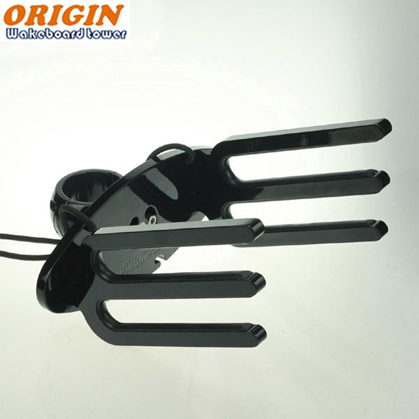 Origin Owt-wwi Wakeboard Tour Rack Noir brillant ajustement horizontal/vertical/Slant Tube