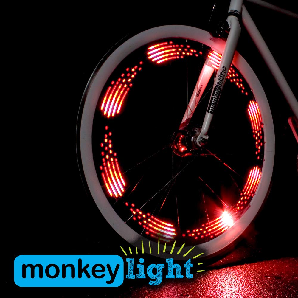 10 Luces Led Para Rueda De Bicicleta Monkey Light M210