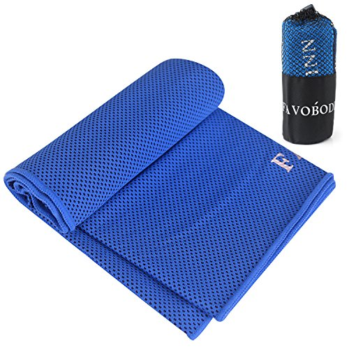 FavoBodinn Super Absorbent Cooling Towel for Instant Relief - 40