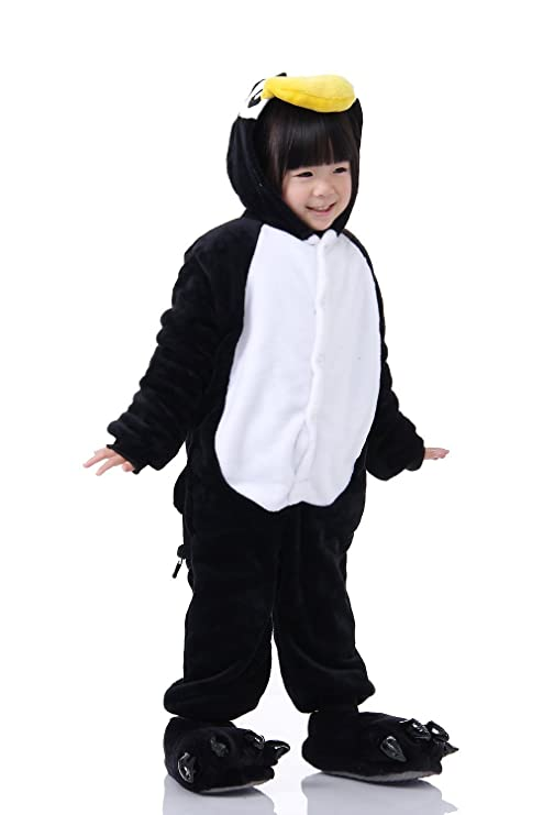 tonwhar childrens halloween costumes kids kigurumi onesie animal cosplay 100height374