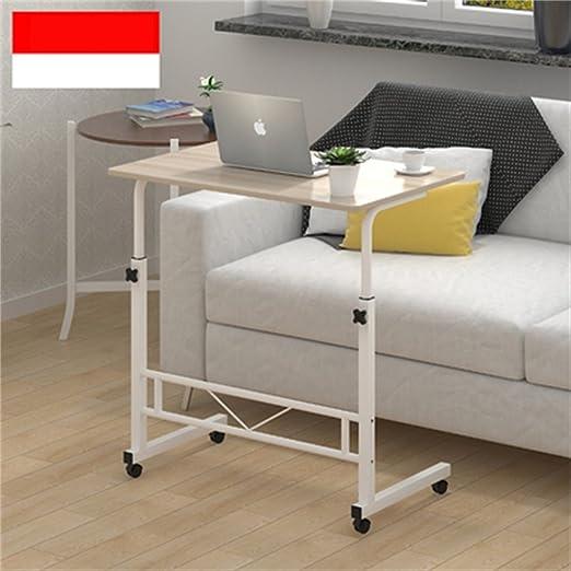Roscloud@ Mesa de cama móvil práctica Mesa de escritorio perezoso ...