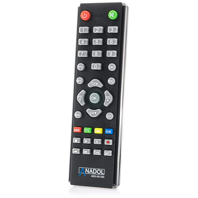 Anadol ADX HD 333 Mini HD HDTV Digital Multi-Flujo Receptor de satélite: Amazon.es: Electrónica