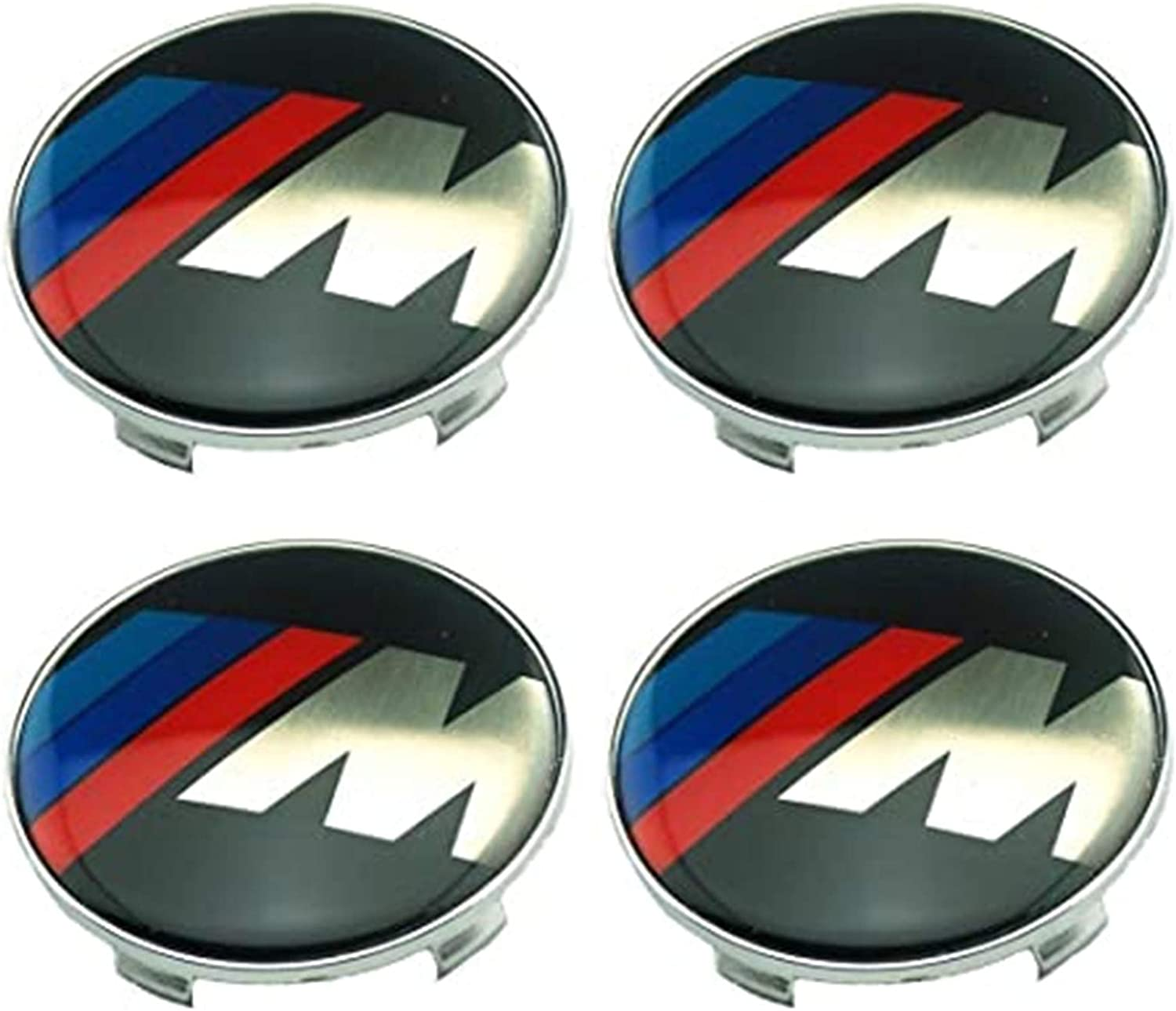 1 xianwei 4pcs 68mm M Car Styling Accessories Emblem Badge Sticker Wheel Hub Caps Centre Cover for M X1 X 3 X5 X 6 M3 M5 M6 E46 E39 E36 E60 E34 E90 E65 E70 E53 E87