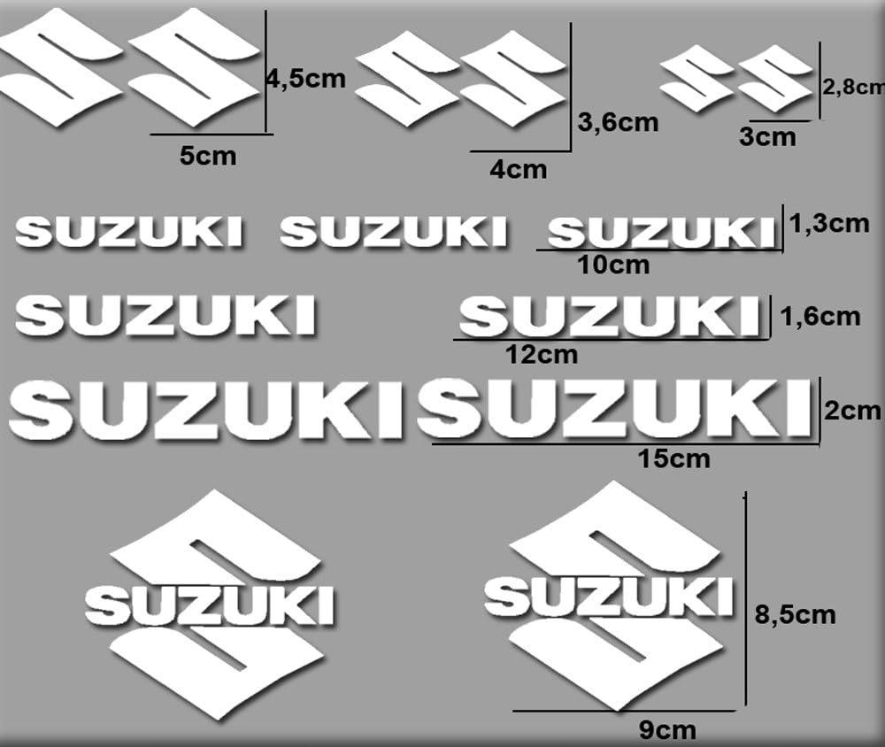 Pegatinas Moto RGSX Suzuki R169 Stickers AUFKLEBER Decals AUTOCOLLANTS ADESIVI