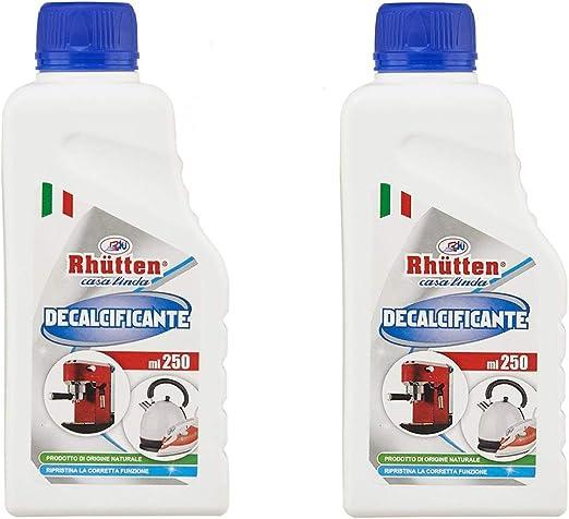 2 x Decalcificador de cafeteras de café natural 250 ml ...