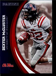 2016 Panini Collegiate Team Set Card #25 Dexter McCluster Ole Miss University
