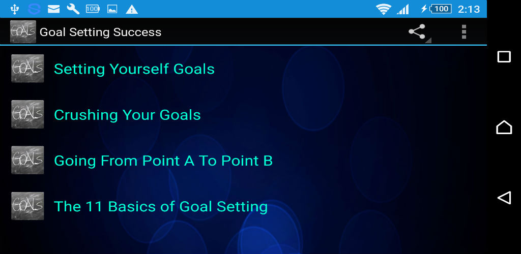 Buy free goal setting app