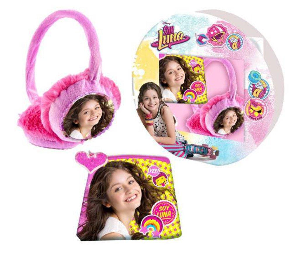 Soy Luna 2 tlg. Set Geldbörse + Ohrenschützer Geldbeutel Ohrenwärmer Ohrschützer Disney Film & Fernsehen