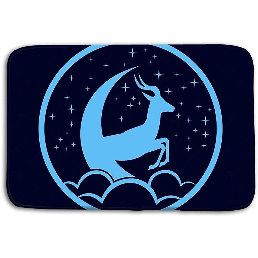 DSSYEAH Felpudos Interiores Al Aire Libre Deer Dream Space Logo ...