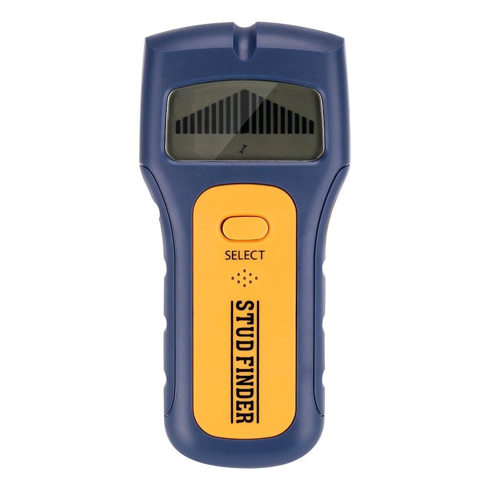 Stud Finder - Delaman 3in1 Stud Wood Wall Center Finder, Scanner, LCD Metal AC Live Wire Detector, Handheld